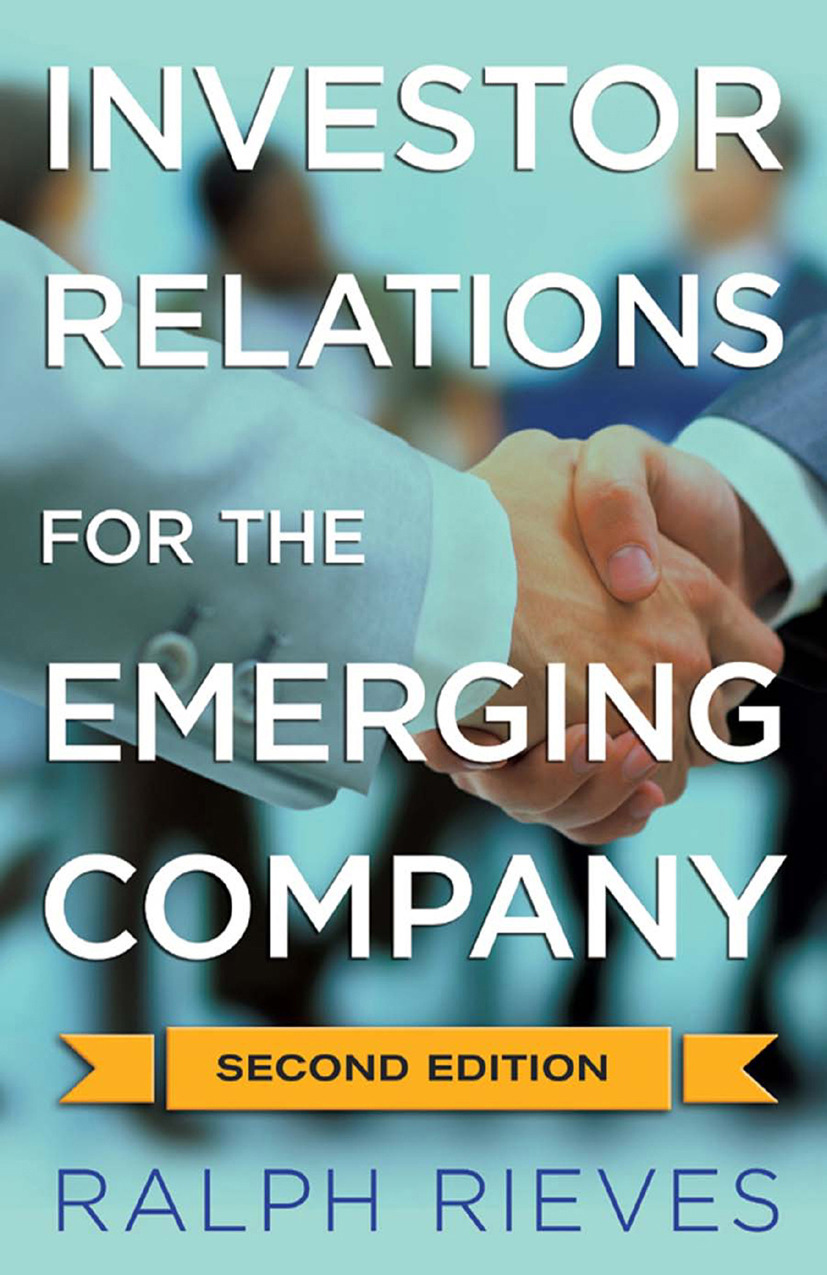Lefebvre, John - Investor Relations for the Emerging Company, ebook