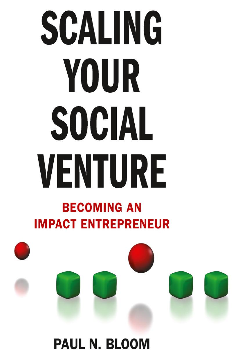 Bloom, Paul N. - Scaling Your Social Venture, ebook