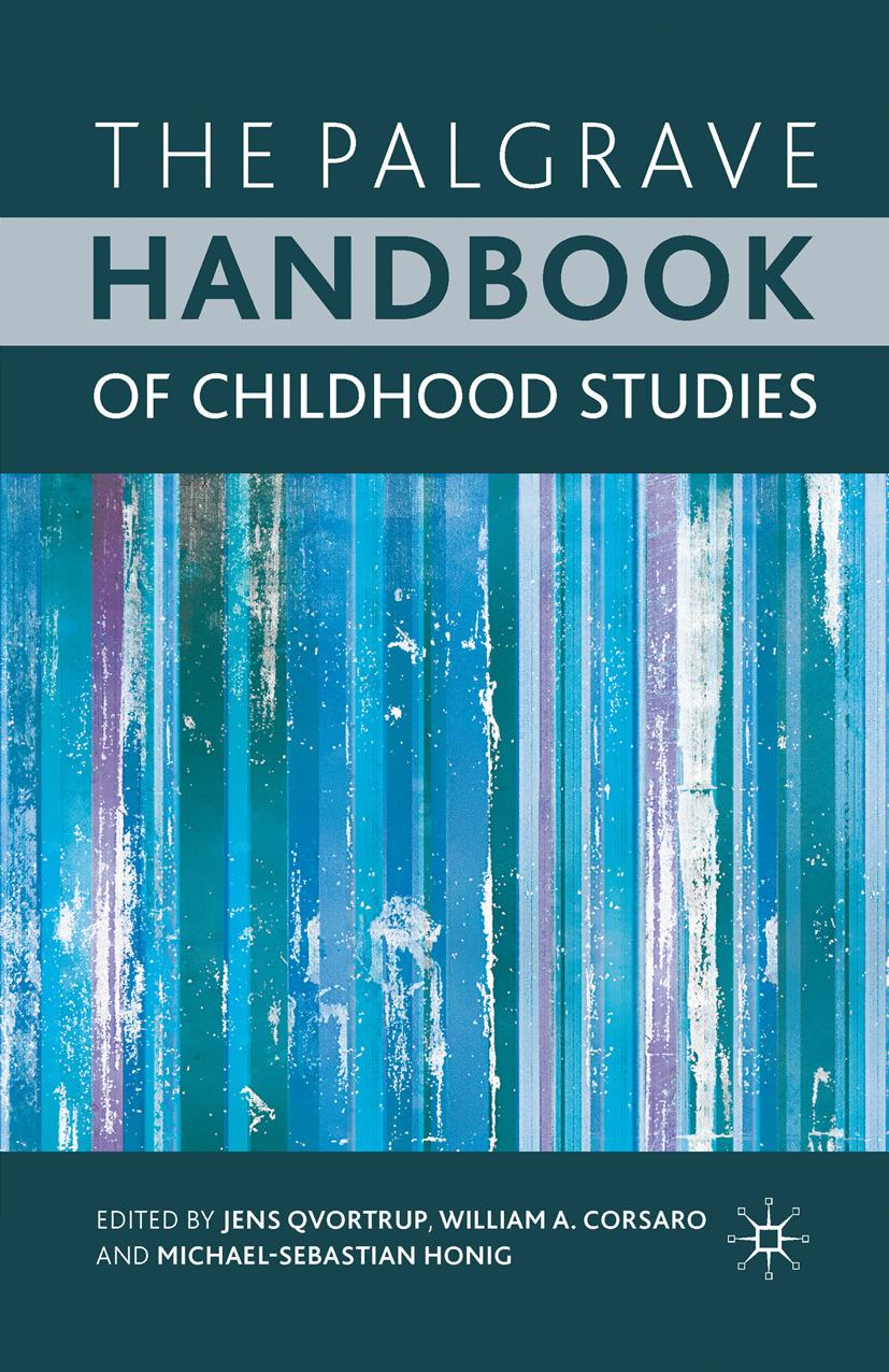 Corsaro, William A. - The Palgrave Handbook of Childhood Studies, ebook