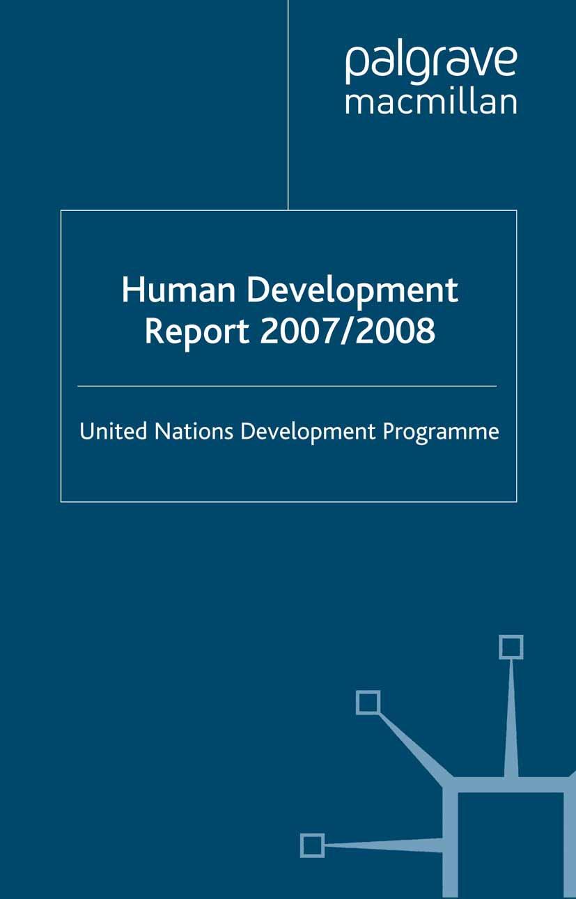 - Human Development Report 2007/2008, ebook