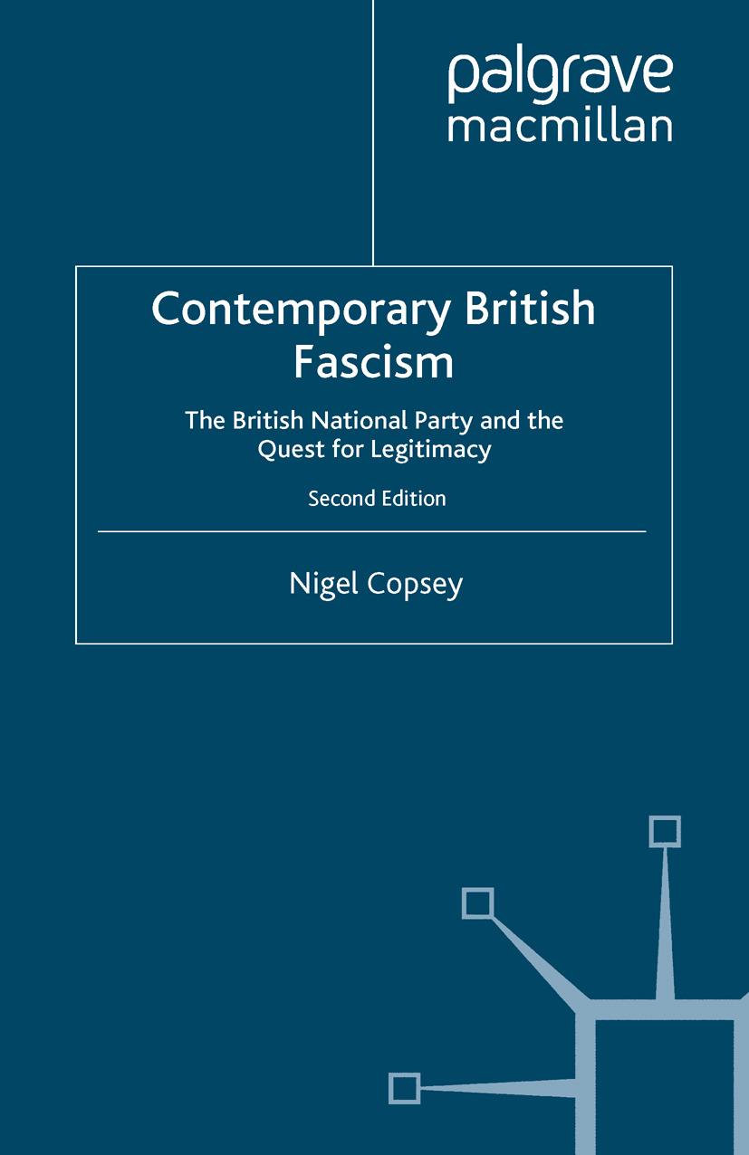 Copsey, Nigel - Contemporary British Fascism, ebook