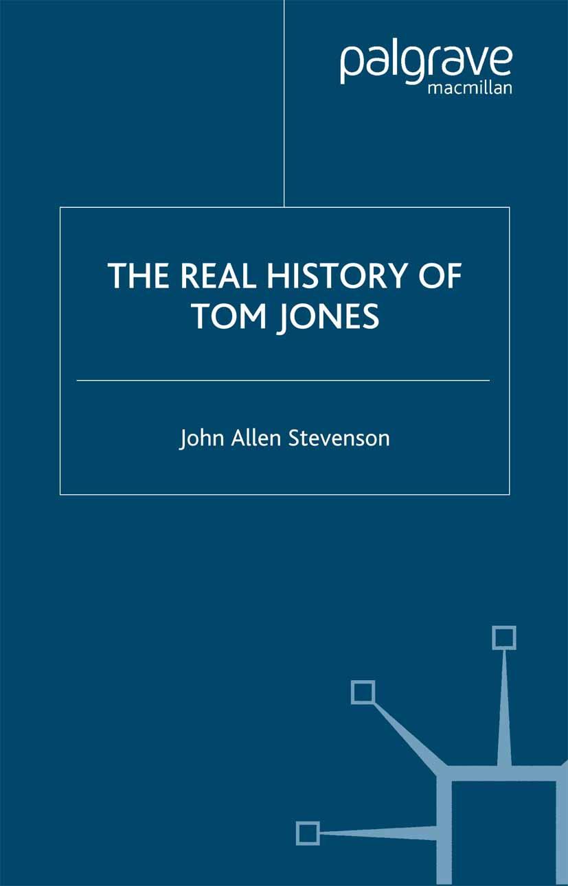 Stevenson, John Allen - The Real History of Tom Jones, ebook