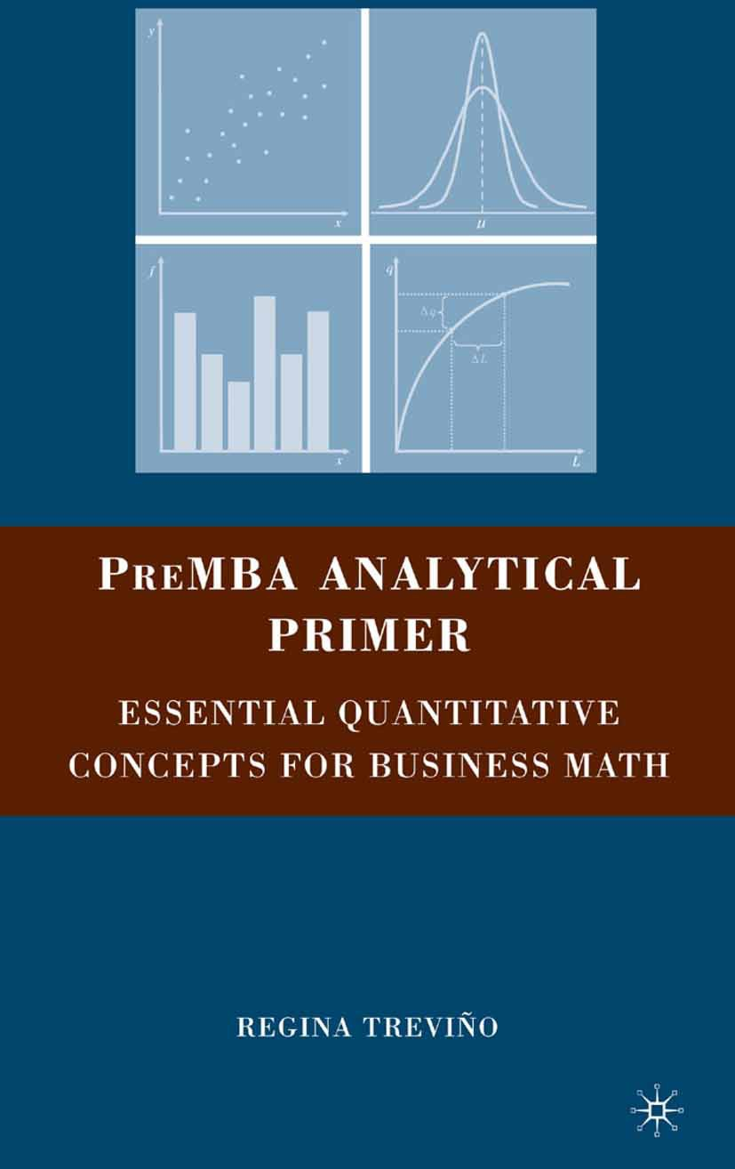 Treviño, Regina - PreMBA Analytical Primer, ebook