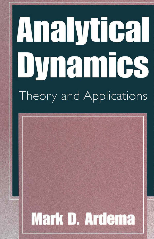 Ardema, Mark D. - Analytical Dynamics, ebook