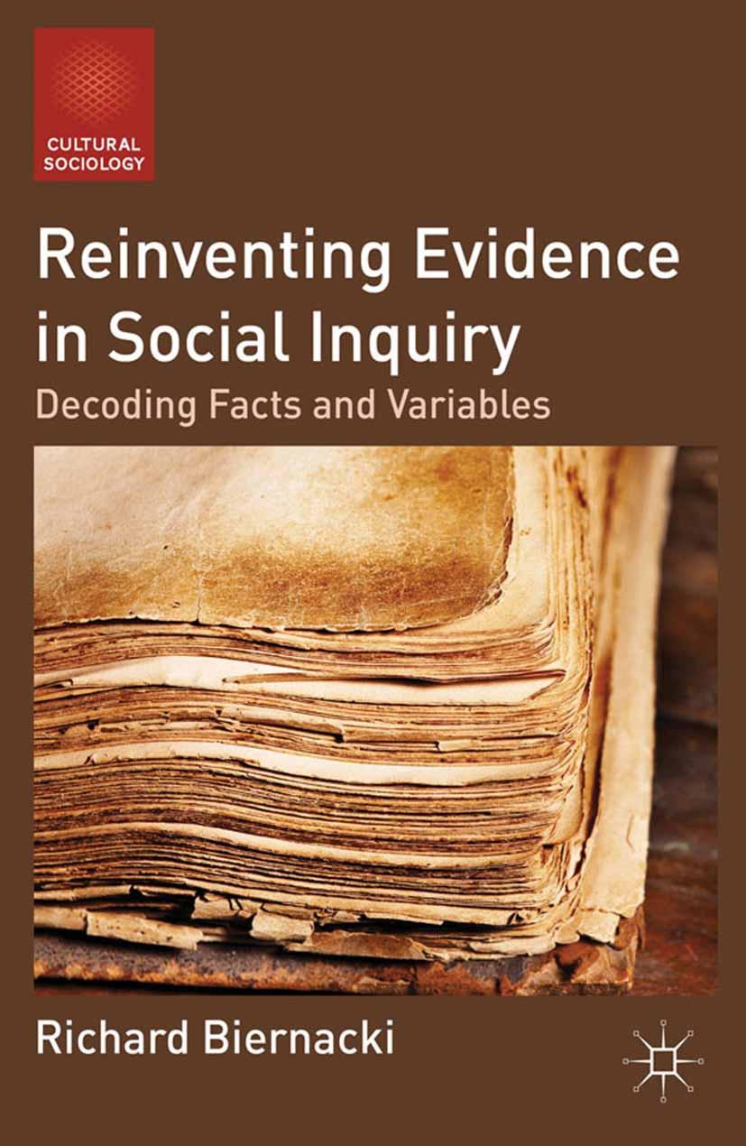 Biernacki, Richard - Reinventing Evidence in Social Inquiry, ebook