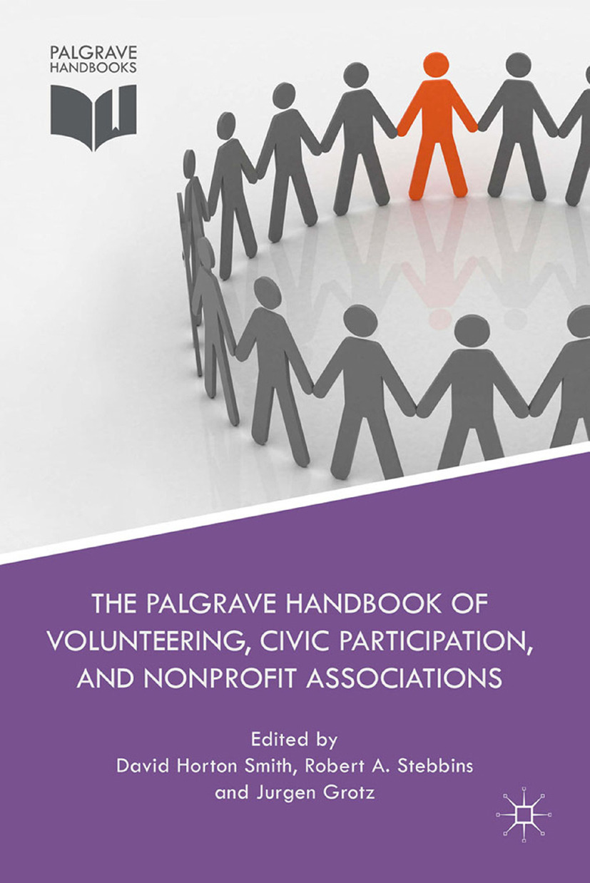 Grotz, Jurgen - The Palgrave Handbook of Volunteering, Civic Participation, and Nonprofit Associations, ebook