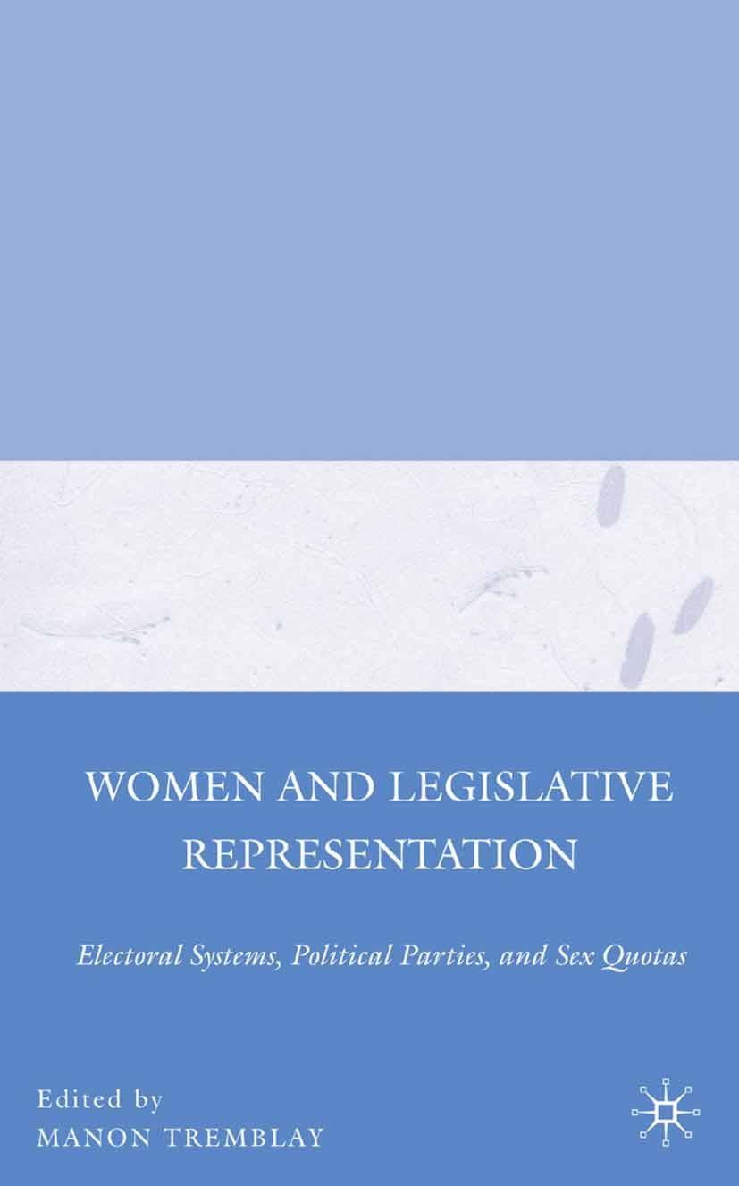 Tremblay, Manon - Women and Legislative Representation, ebook