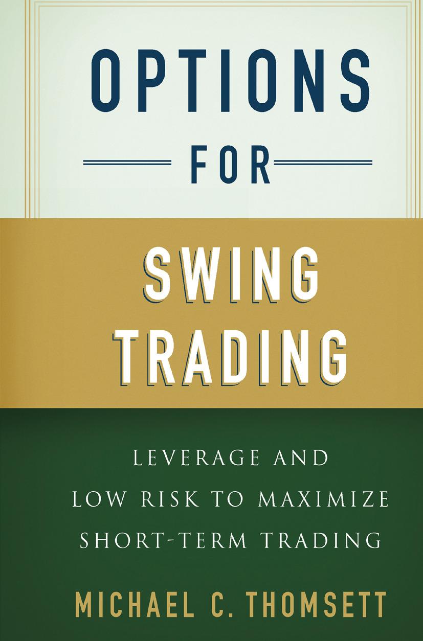 Thomsett, Michael C. - Options for Swing Trading, ebook