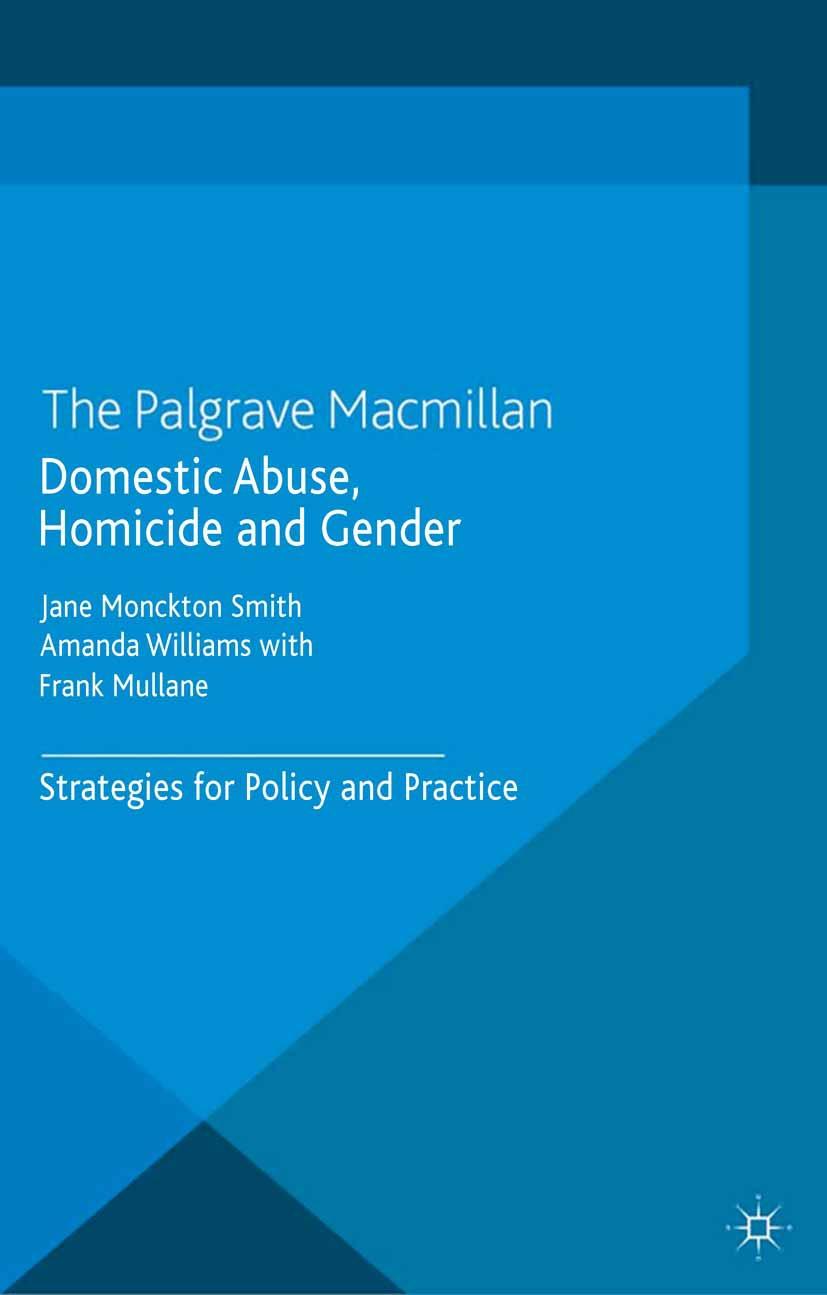 Mullane, Frank - Domestic Abuse, Homicide and Gender, ebook