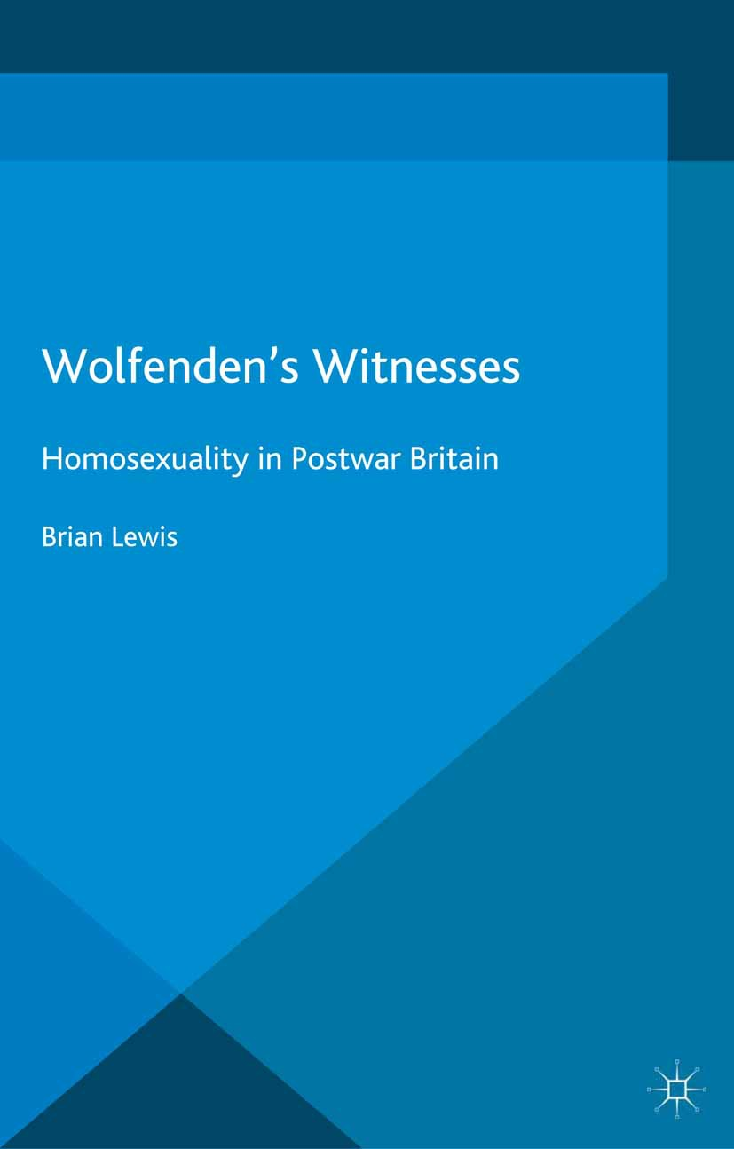 Lewis, Brian - Wolfenden's Witnesses, ebook