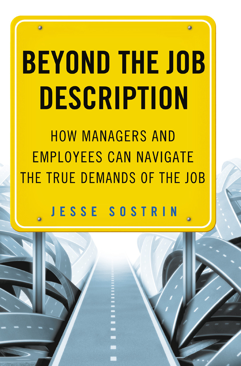 Sostrin, Jesse - Beyond the Job Description, ebook