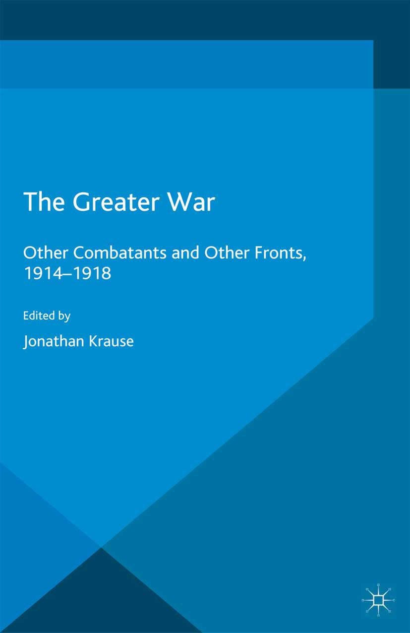 Krause, Jonathan - The Greater War, ebook