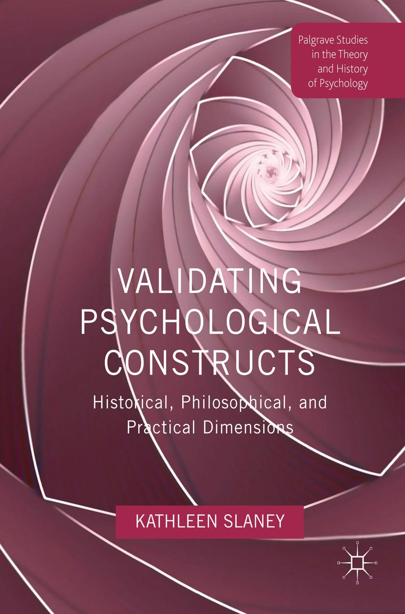 Slaney, Kathleen - Validating Psychological Constructs, ebook