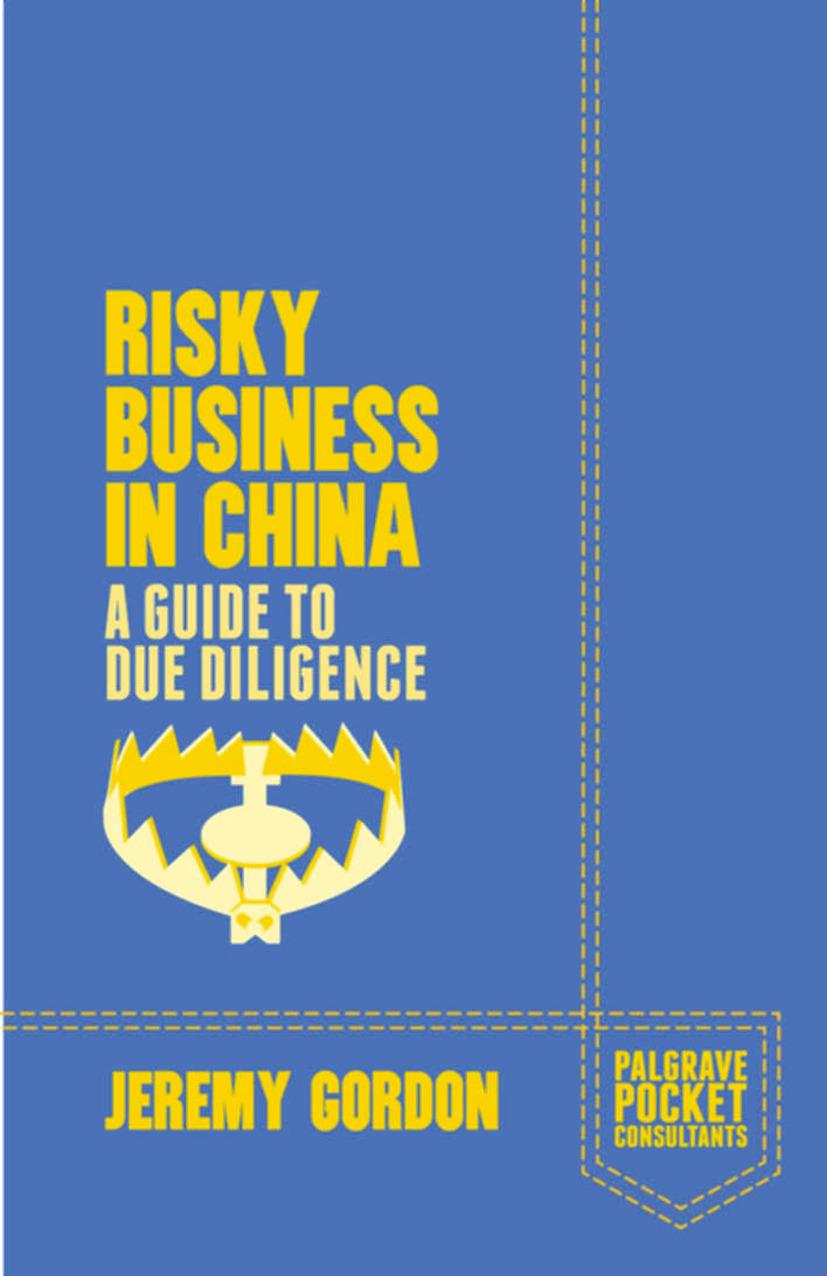 Gordon, Jeremy - Risky Business in China, ebook