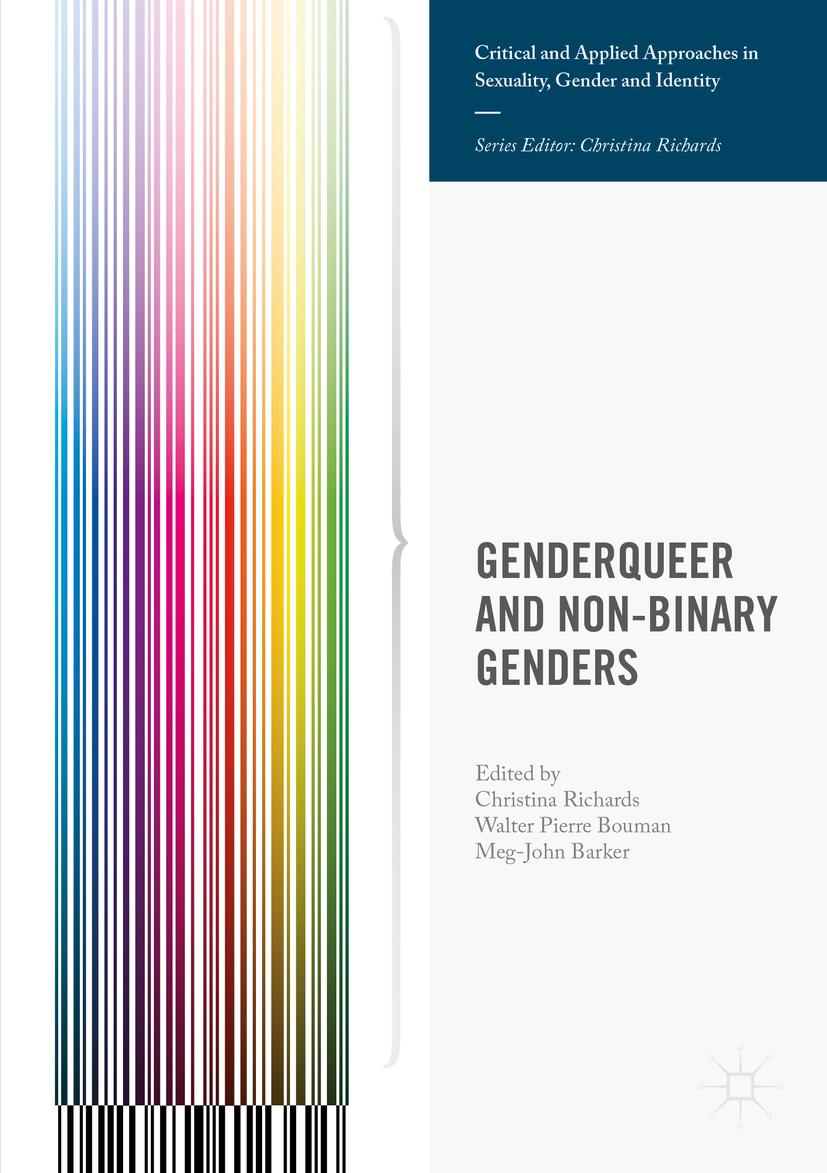 Barker, Meg-John - Genderqueer and Non-Binary Genders, ebook