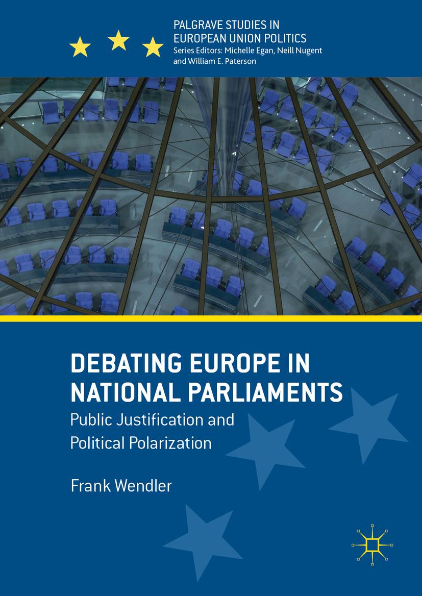 Wendler, Frank - Debating Europe in National Parliaments, ebook