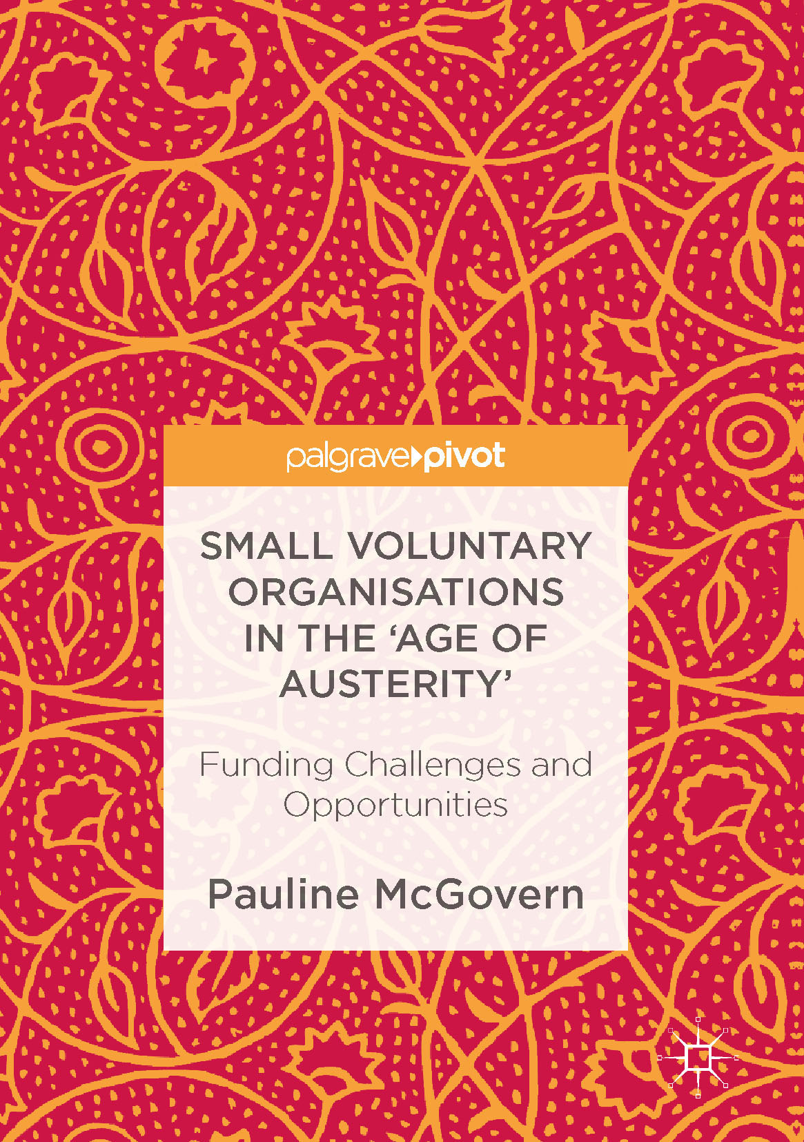 McGovern, Pauline - Small Voluntary Organisations in the 'Age of Austerity', ebook