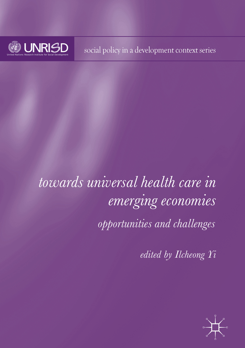 Yi, Ilcheong - Towards Universal Health Care in Emerging Economies, ebook