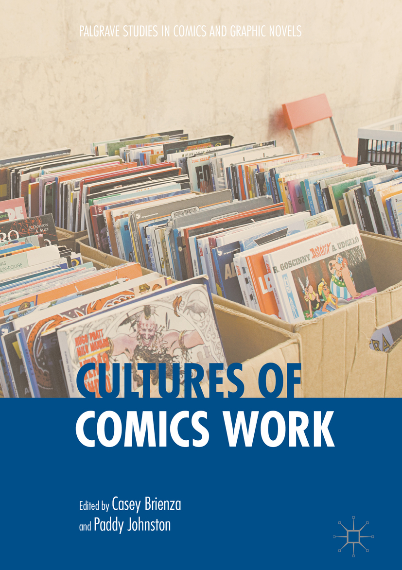 Brienza, Casey - Cultures of Comics Work, ebook