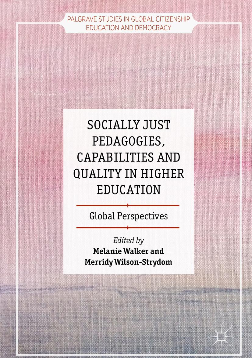 Walker, Melanie - Socially Just Pedagogies, Capabilities and Quality in Higher Education, ebook