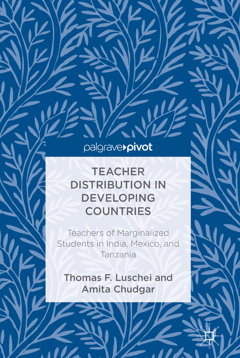 Chudgar, Amita - Teacher Distribution in Developing Countries, ebook