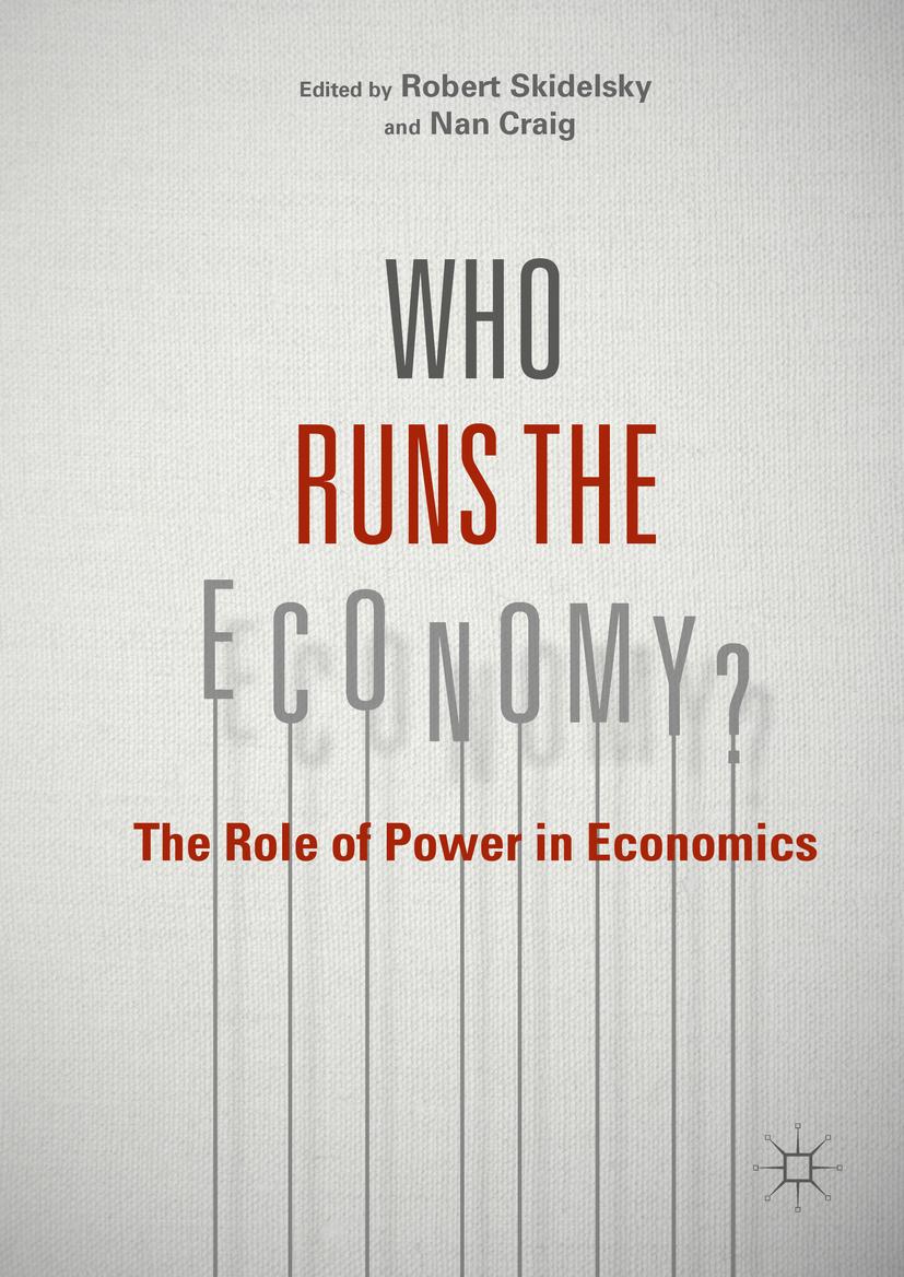 Craig, Nan - Who Runs the Economy?, ebook
