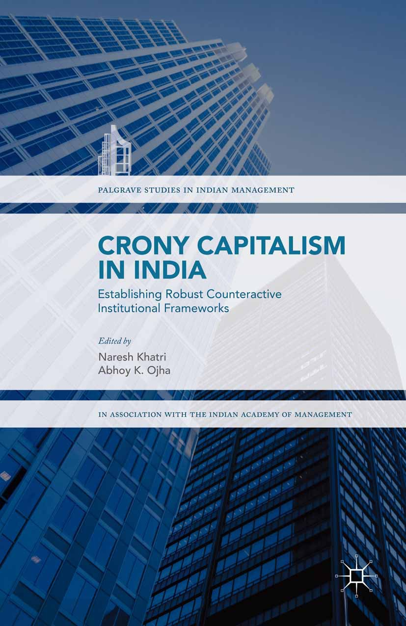 Khatri, Naresh - Crony Capitalism in India, ebook