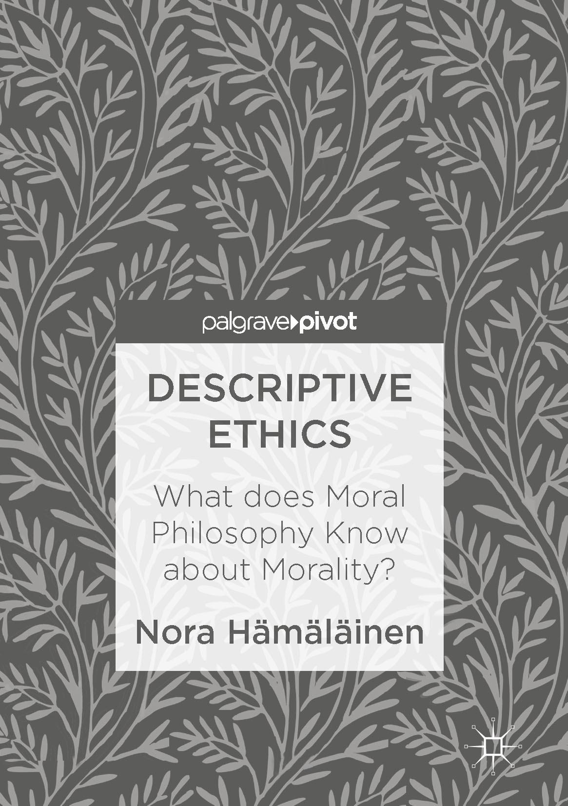 Hämäläinen, Nora - Descriptive Ethics, ebook