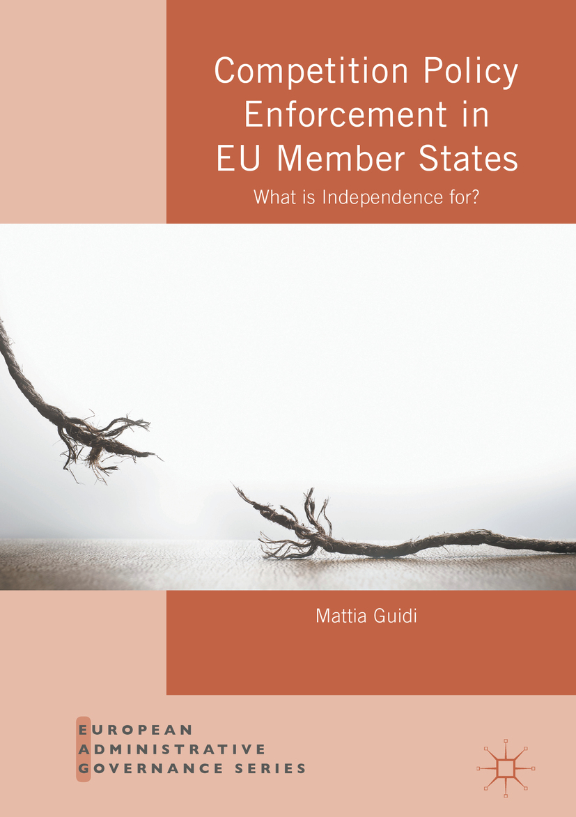 Guidi, Mattia - Competition Policy Enforcement in EU Member States, ebook