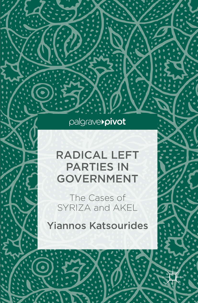 Katsourides, Yiannos - Radical Left Parties in Government, ebook
