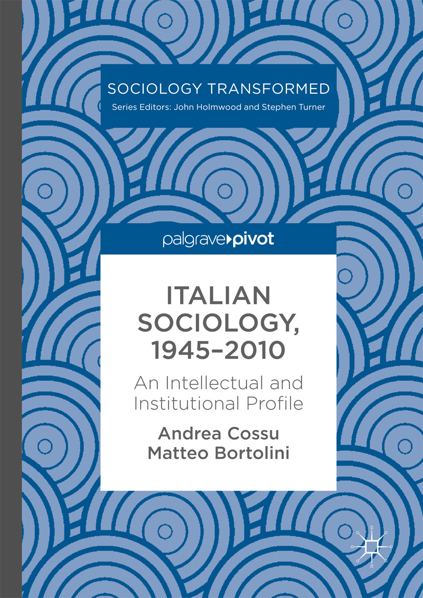 Bortolini, Matteo - Italian Sociology,1945–2010, e-bok
