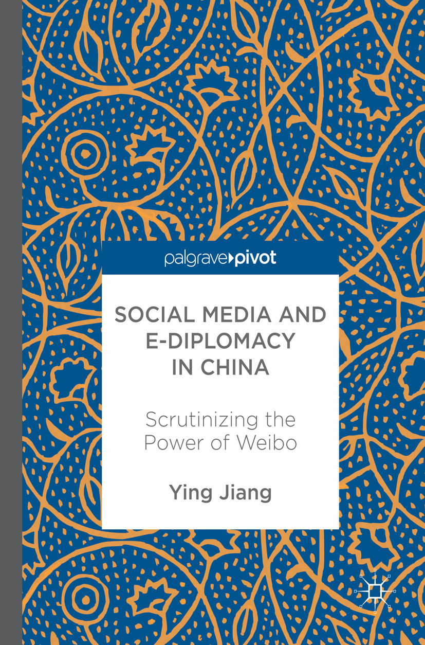Jiang, Ying - Social Media and e-Diplomacy in China, ebook