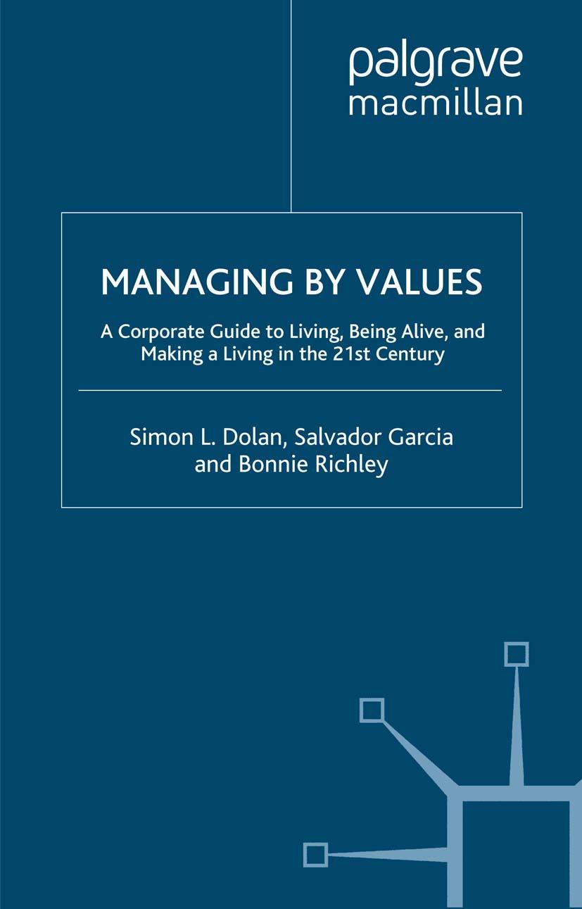 Dolan, Simon L. - Managing by Values, ebook