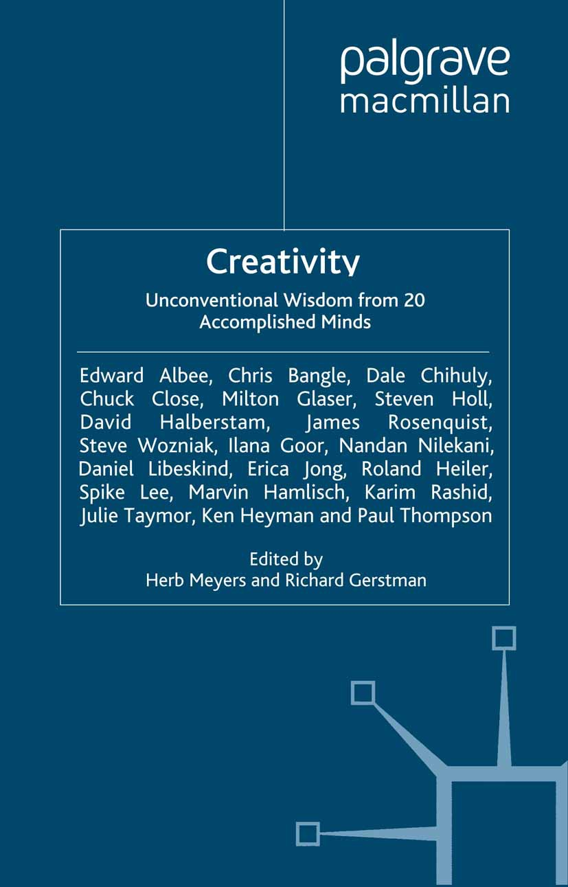 Gerstman, Richard - Creativity: Unconventional Wisdom from 20 Accomplished Minds, ebook