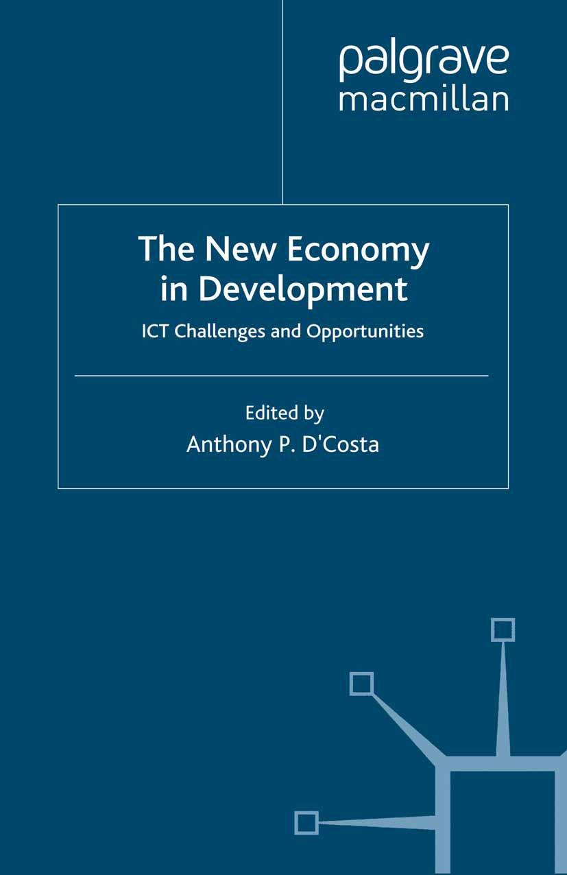 D'Costa, Anthony P. - The New Economy in Development, ebook