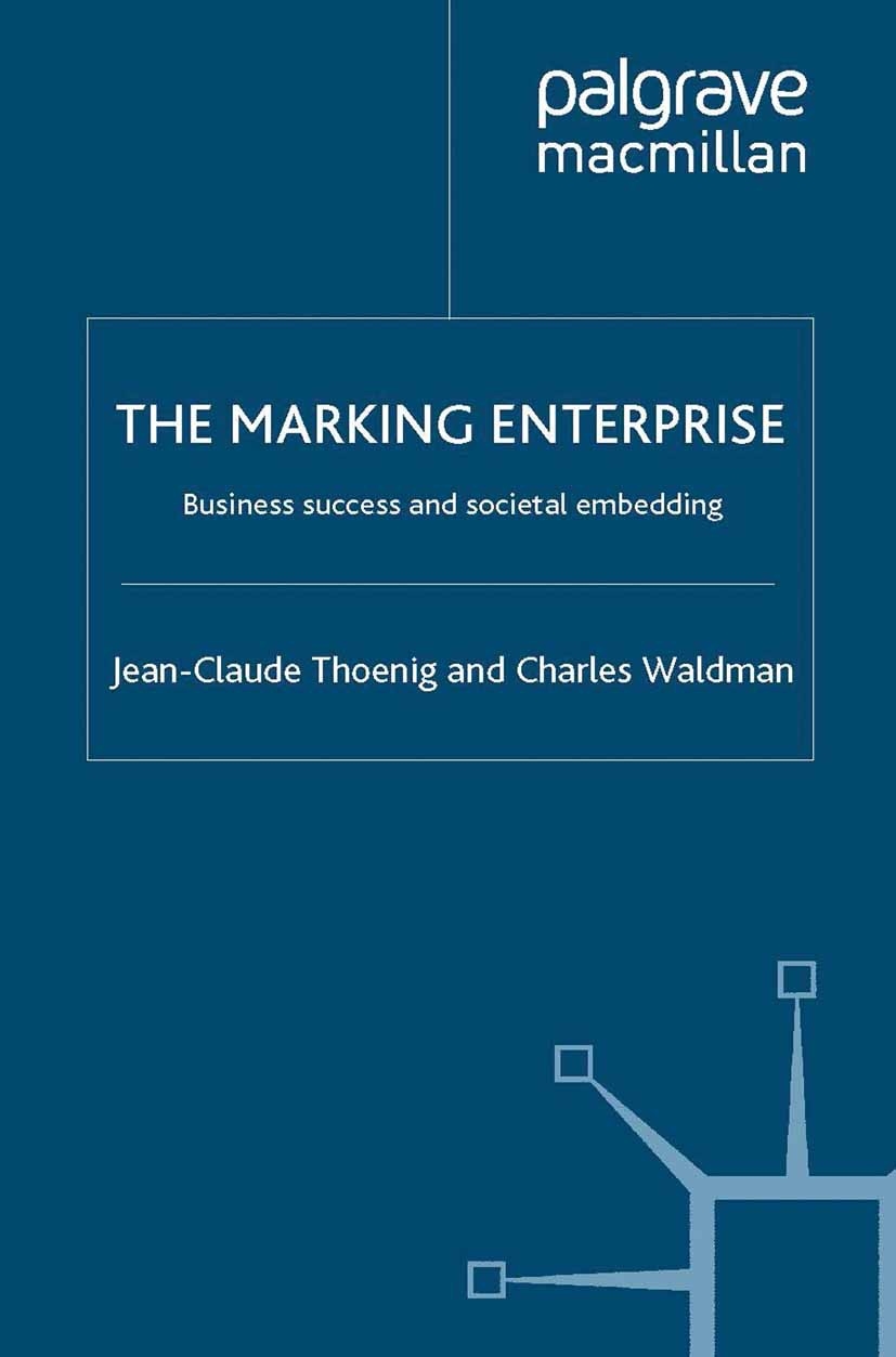 Thoenig, Jean-Claude - The Marking Enterprise, e-kirja