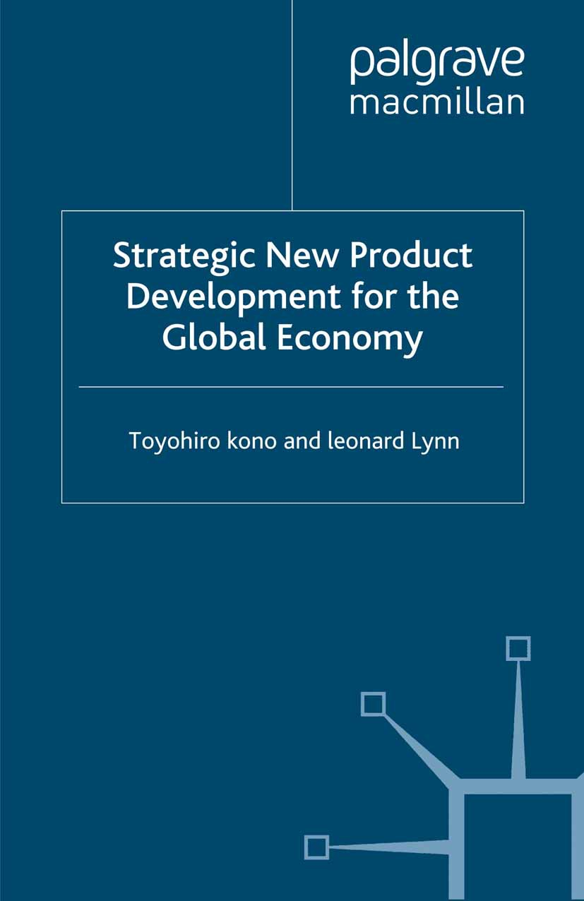 Kono, Toyohiro - Strategic New Product Development for the Global Economy, ebook