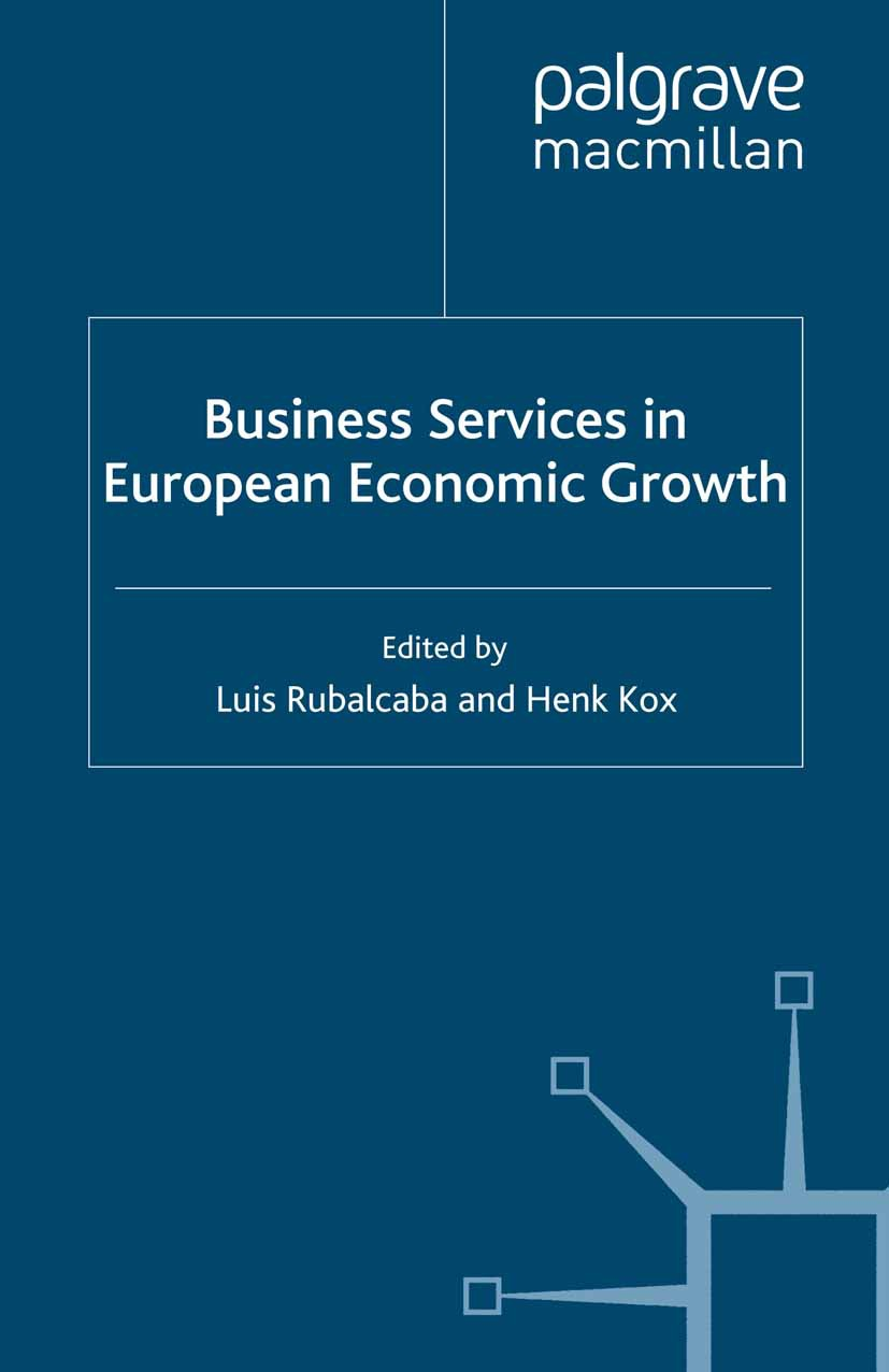 Kox, Henk - Business Services in European Economic Growth, ebook