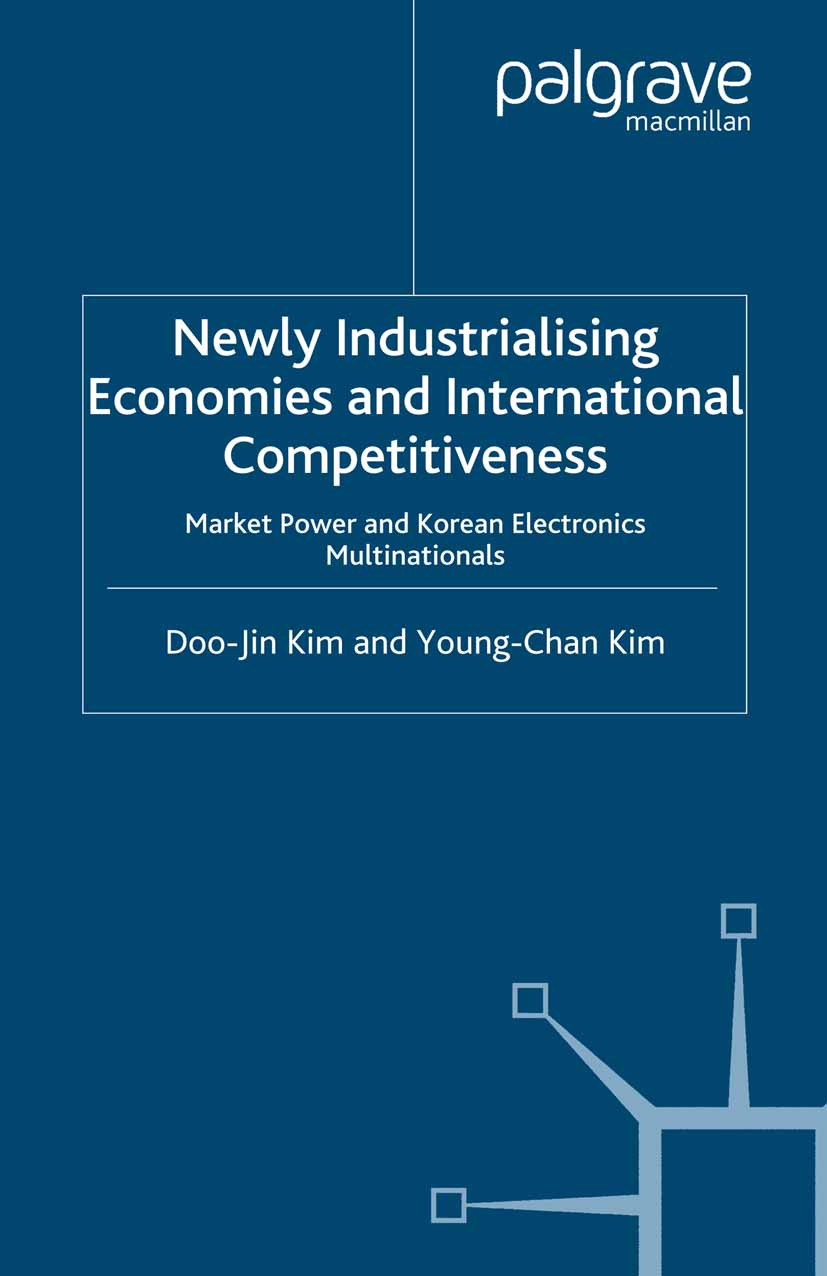 Kim, Doo-Jin - Newly Industrialising Economies and International Competitiveness, e-bok