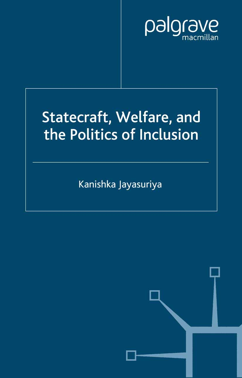 Jayasuriya, Kanishka - Statecraft, Welfare, and the Politics of Inclusion, ebook