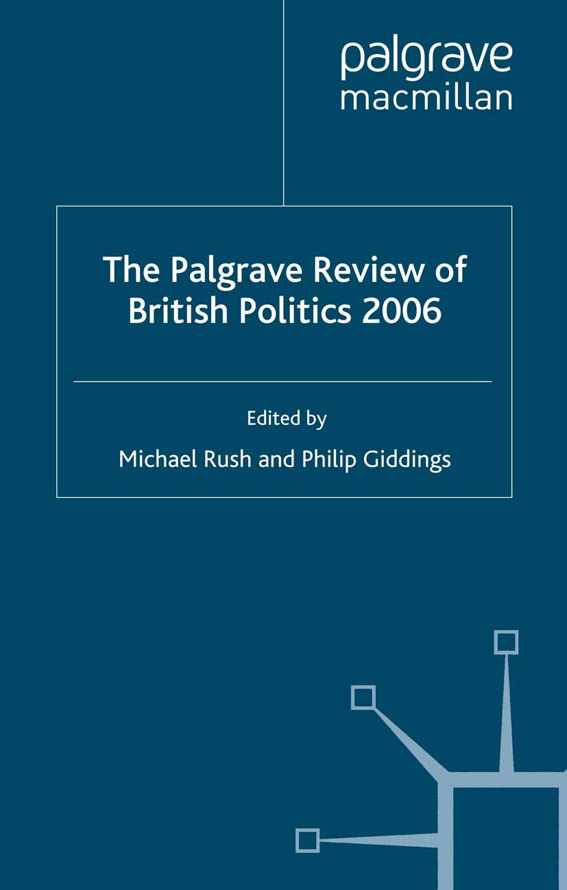 Giddings, Philip - The Palgrave Review of British Politics 2006, ebook