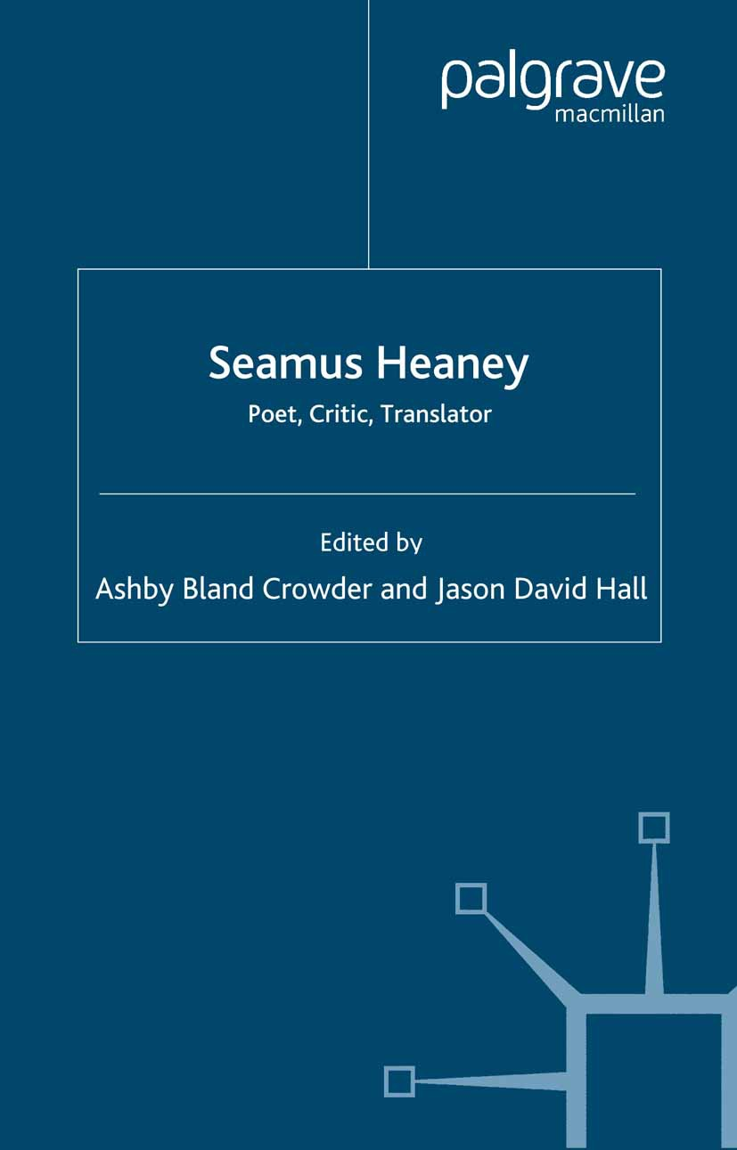 Crowder, Ashby Bland - Seamus Heaney, ebook