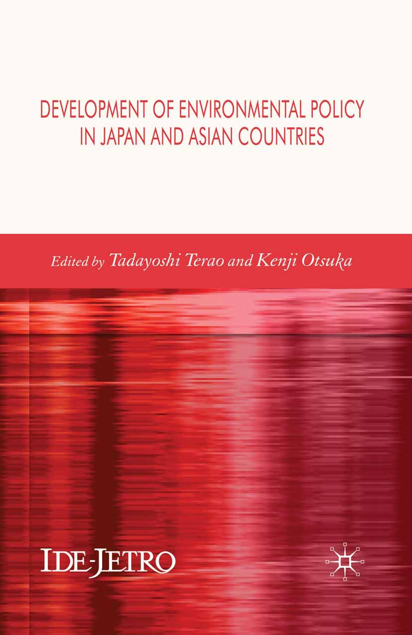 Otsuka, Kenji - Development of Environmental Policy in Japan and Asian Countries, ebook