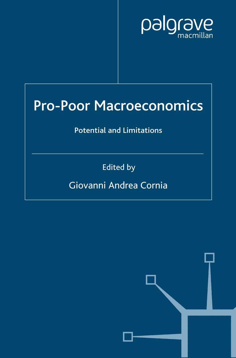 Cornia, Giovanni Andrea - Pro-Poor Macroeconomics, ebook
