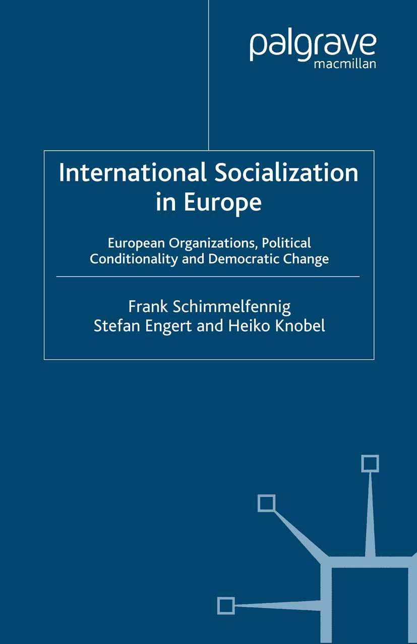 Engert, Stefan - International Socialization in Europe, ebook