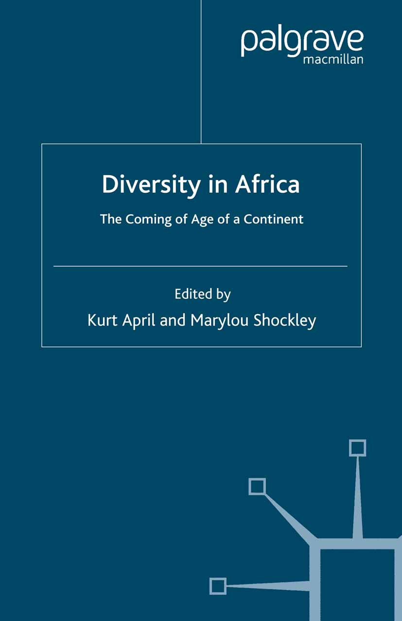 April, Kurt A. - Diversity in Africa, ebook