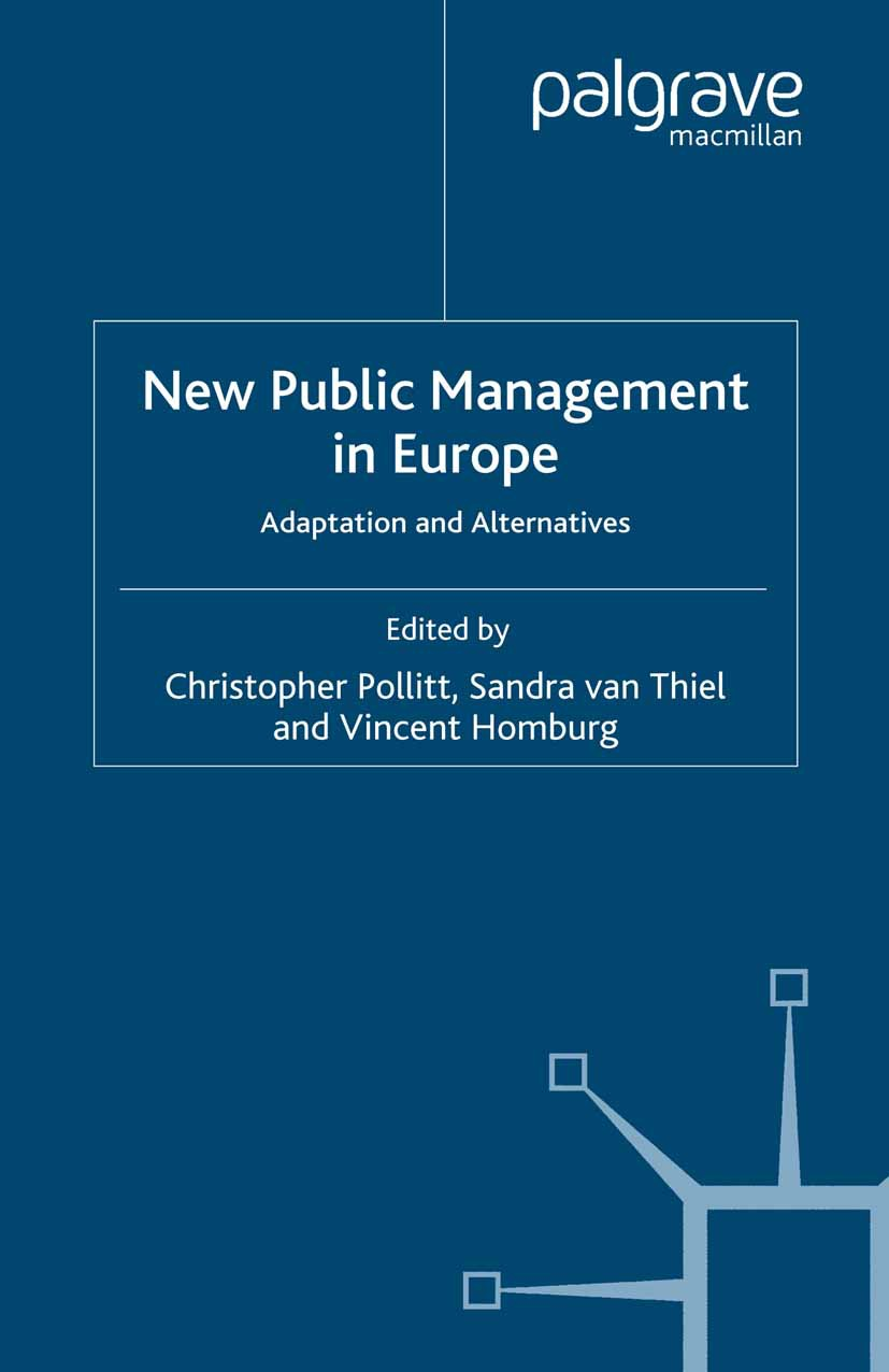 Homburg, Vincent - New Public Management in Europe, ebook