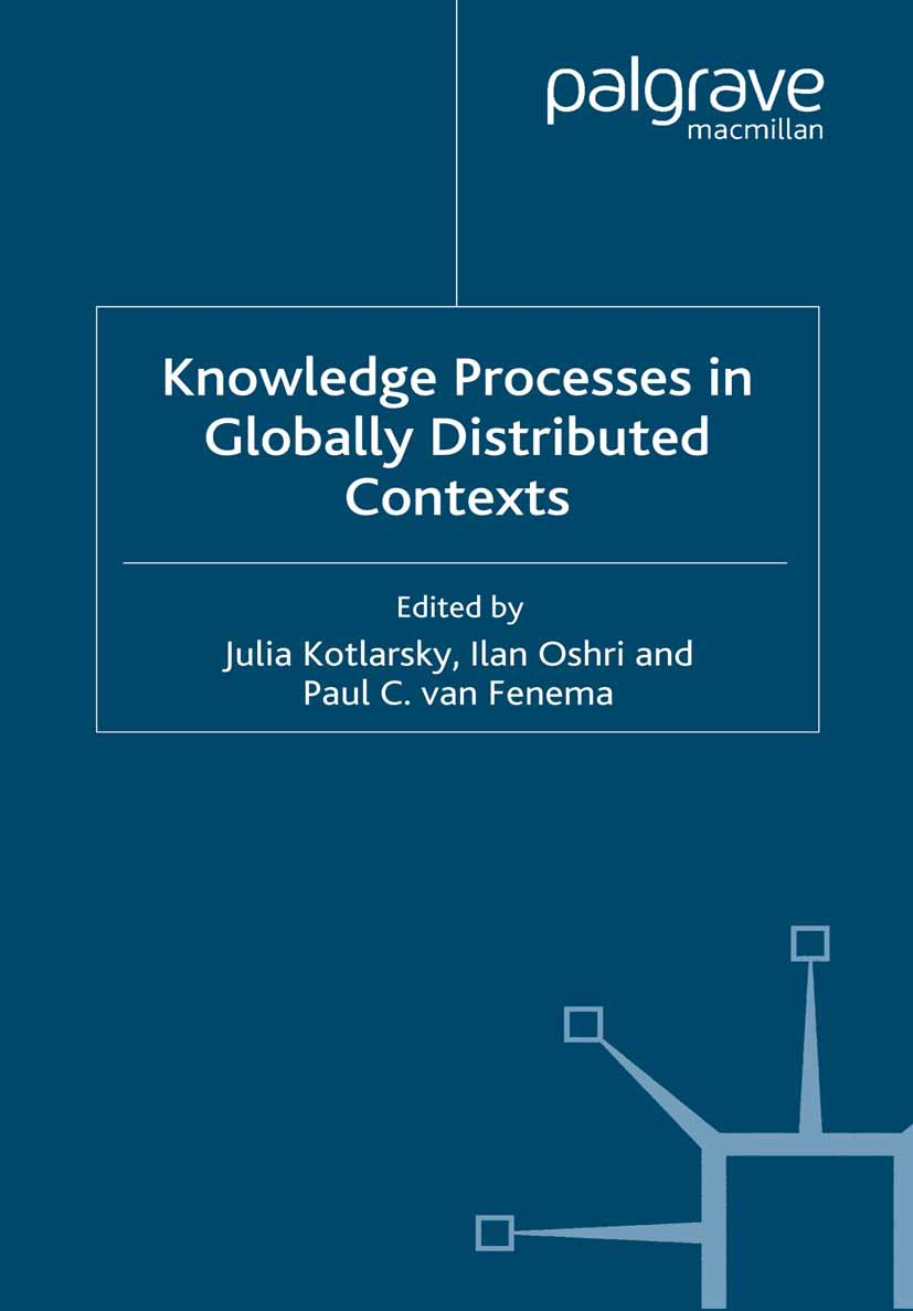 Fenema, Paul C. - Knowledge Processes in Globally Distributed Contexts, ebook