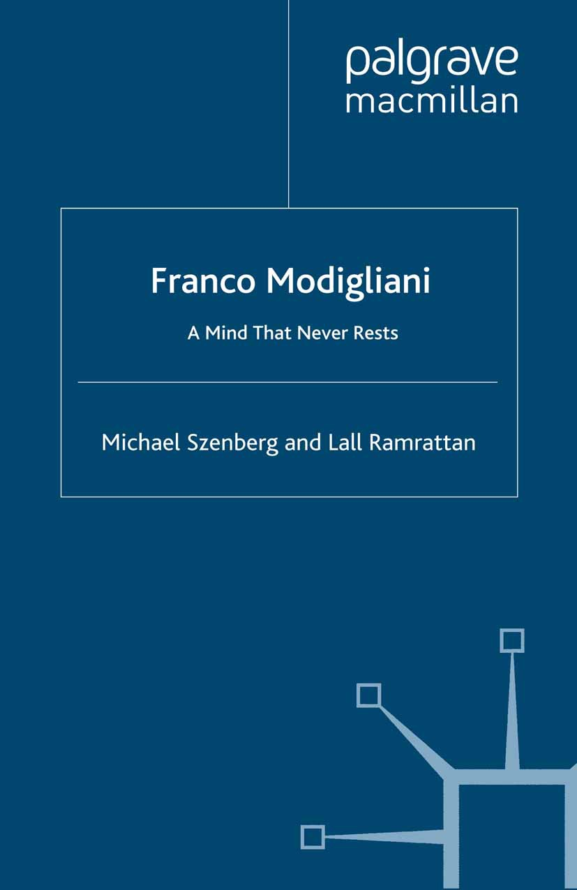 Ramrattan, Lall - Franco Modigliani, ebook