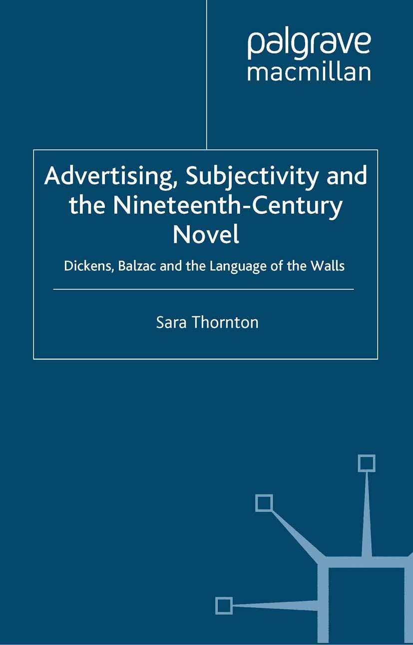 Thornton, Sara - Advertising, Subjectivity and the Nineteenth-Century Novel, ebook